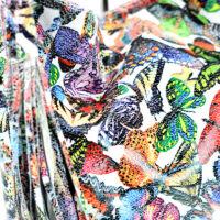 Valódi bőr pillangós női táska
