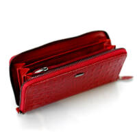Angela Moretti Valódi bőr női pénztárca díszdobozban