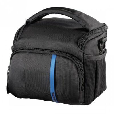 HAMA Nashvill 110 fotó táska, feket/kék