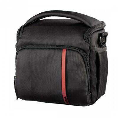 HAMA Nashvill 130 fotós táska, feket/vörös
