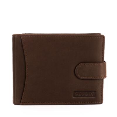 GIULIO valódi bőr férfi pénztárca díszdobozban ( 9 kártyatartó )