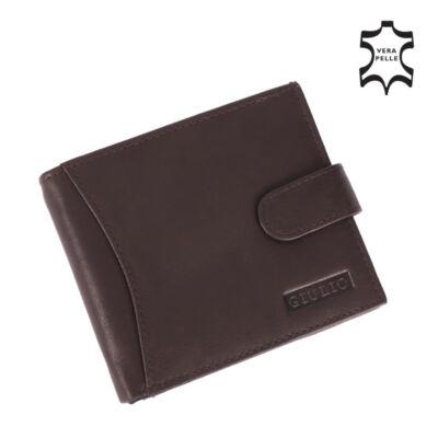GIULIO valódi bőr férfi pénztárca ( 12 kártyatartó )