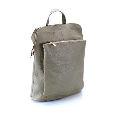 Valódi bőr női hátizsák Ipad tartóval