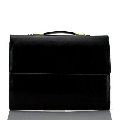Fekete női üzleti táska