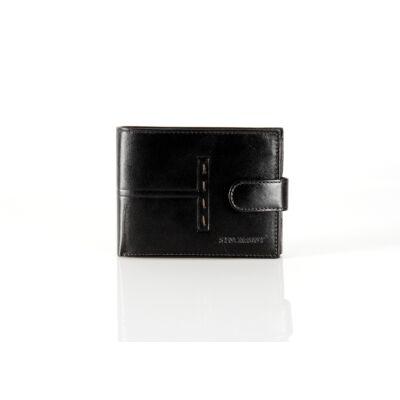Synchrony valódi bőr férfi pénztárca díszdobozban