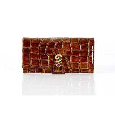 Cavalieri valódi bőr női pénztárca díszdobozban