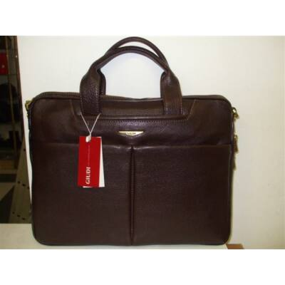 Giudi valódi bőr laptop táska